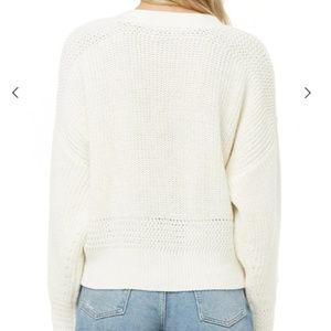 Forever 21 Sweaters - Ribbed Cropped Button-Front Cardigan